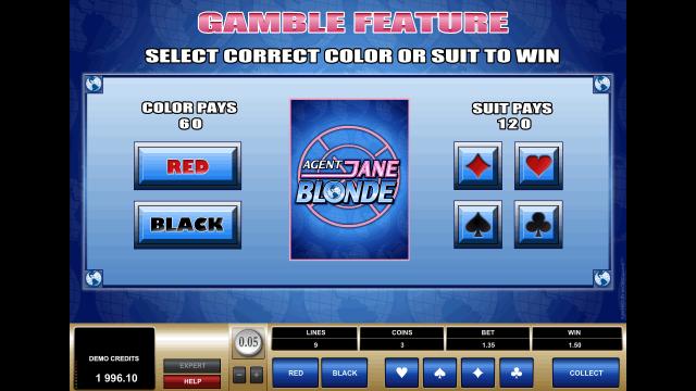 игровой автомат Agent Jane Blonde 4