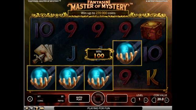 онлайн аппарат Fantasini: Master Of Mystery 9