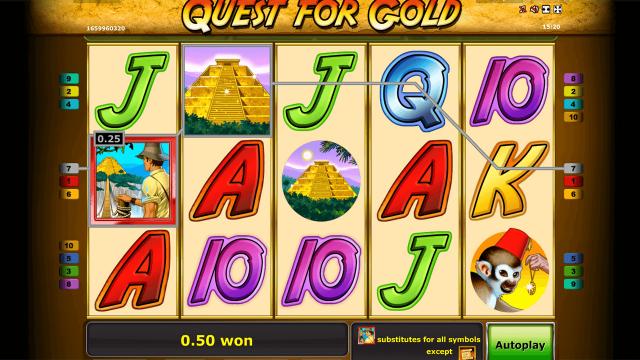 игровой автомат Quest For Gold 7