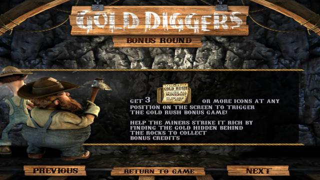онлайн аппарат Gold Diggers 6