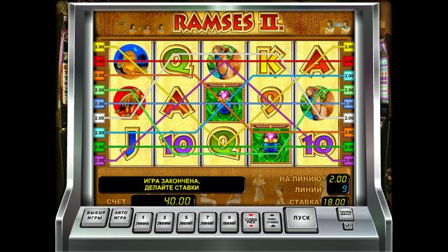 популярный слот Ramses II 9