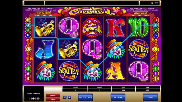 игровой автомат Carnaval 4
