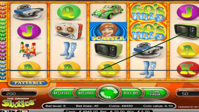 игровой автомат The Groovy Sixties 3