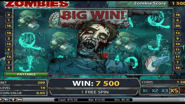 популярный слот Zombies 9