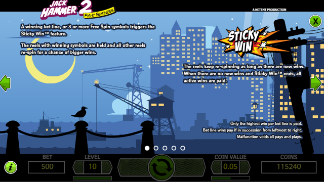 игровой автомат Jack Hammer 2 4