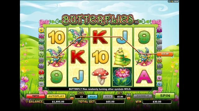 онлайн аппарат Butterflies 8