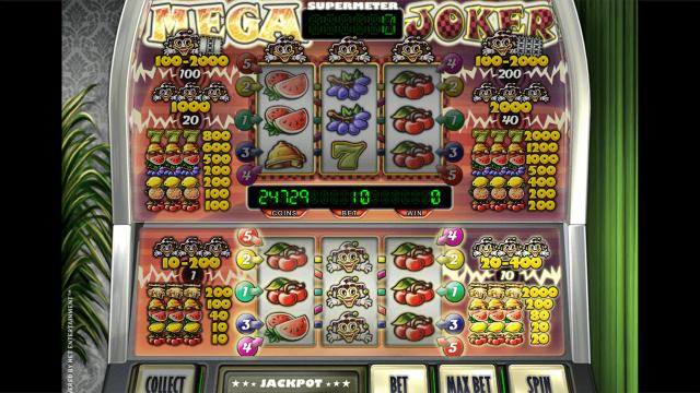 игровой автомат Mega Joker by Netent 5