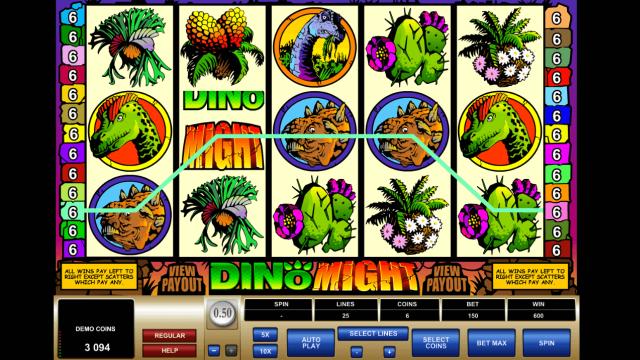 игровой автомат Dino Might 10