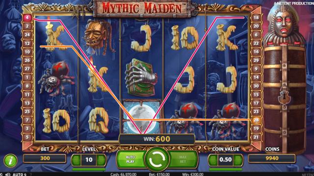 онлайн аппарат Mythic Maiden 6