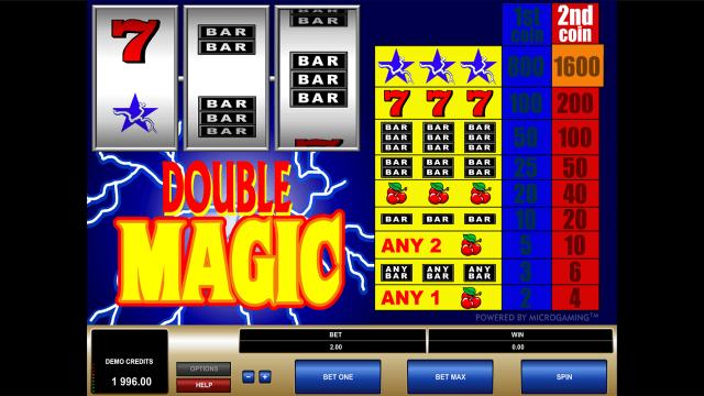 игровой автомат Double Magic 2