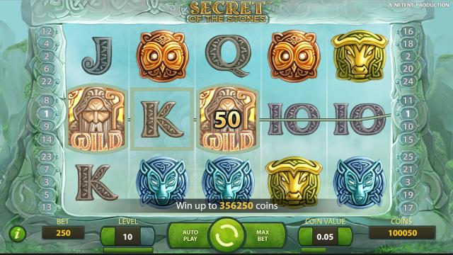 игровой автомат Secret Of The Stones 6