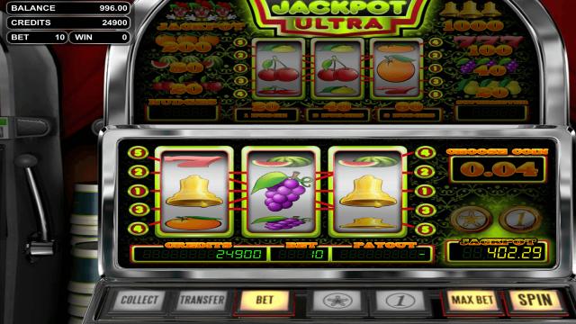 игровой автомат Jackpot Ultra 10