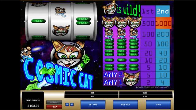 популярный слот Cosmic Cat 4