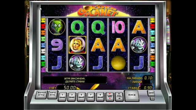 игровой автомат Golden Planet 1