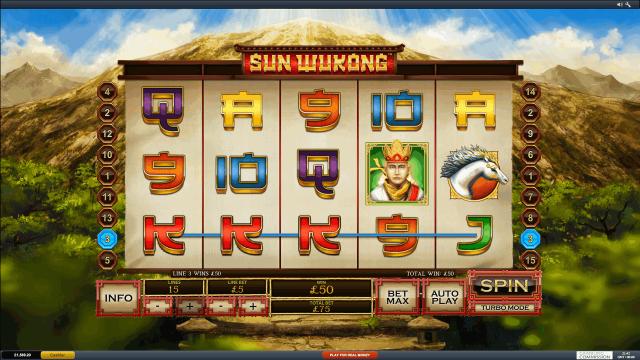 популярный слот Sun Wukong 5