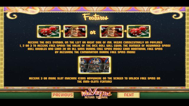 игровой автомат Mr. Vegas 3