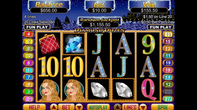 игровой автомат Diamond Dozen 6