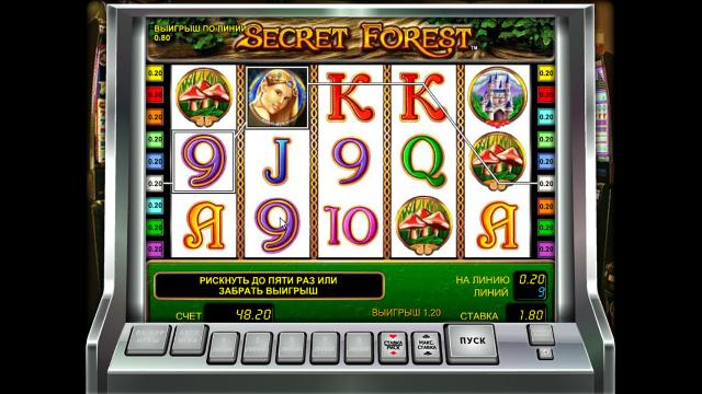 популярный слот Secret Forest 3
