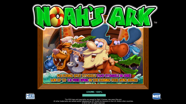 популярный слот Noah's Ark 1