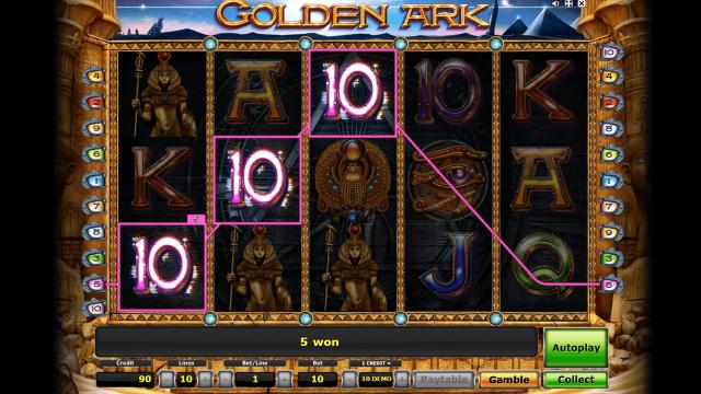 популярный слот Golden Ark 8