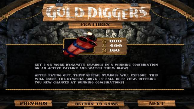 онлайн аппарат Gold Diggers 3