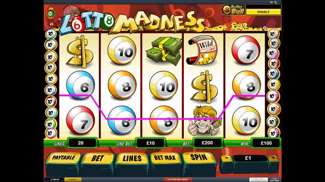 онлайн аппарат Lotto Madness 1