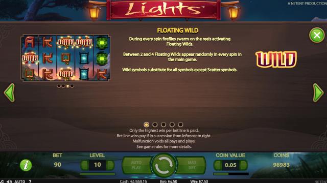 популярный слот Lights 1