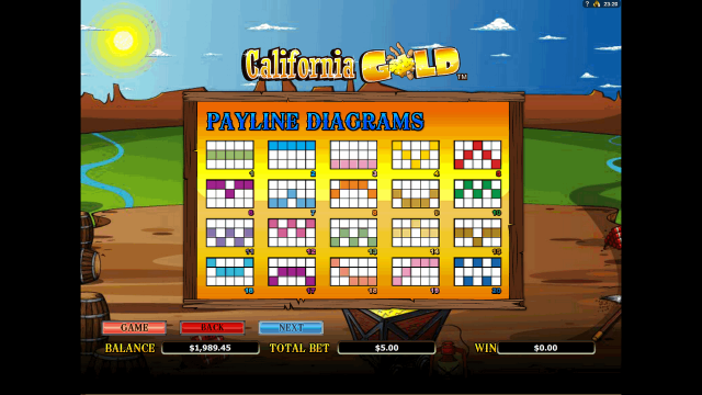 онлайн аппарат California Gold 5