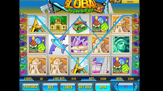 игровой автомат Global Traveler 7