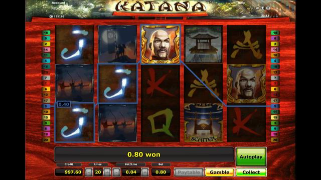 игровой автомат Katana 3