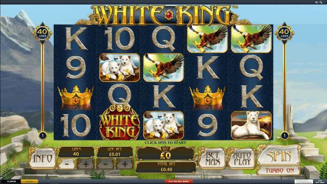популярный слот White King 5