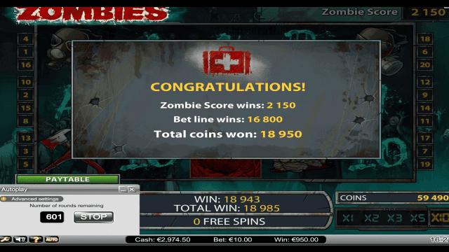 игровой автомат Zombies 10