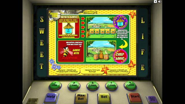 игровой автомат Sweet Life 6