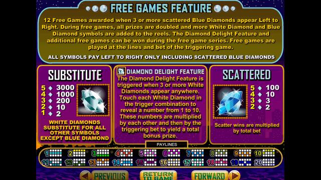 игровой автомат Diamond Dozen 7