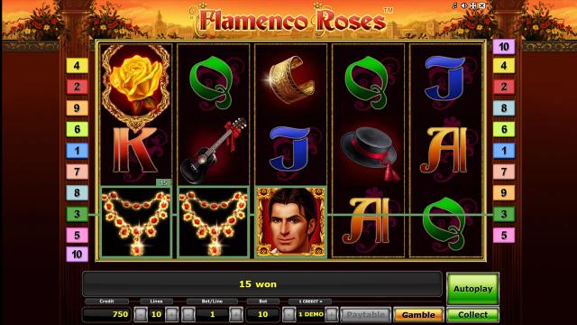 игровой автомат Flamenco Roses 2