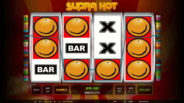 онлайн аппарат Supra Hot 4