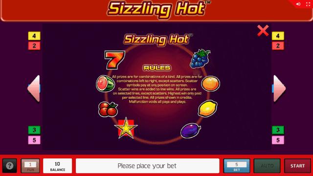 игровой автомат Sizzling Hot 18
