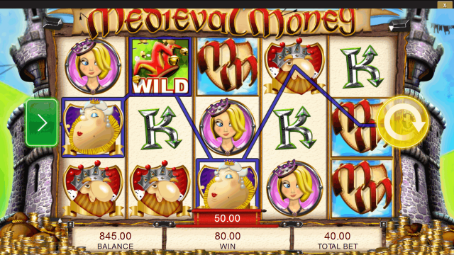 онлайн аппарат Medieval Money 2