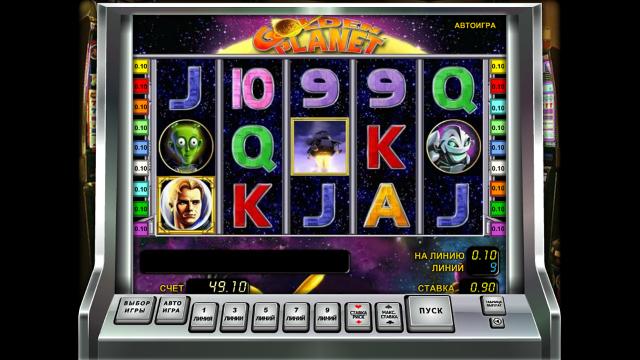 игровой автомат Golden Planet 2