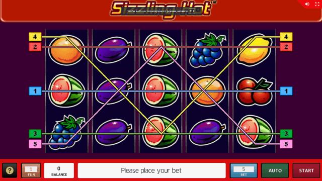 игровой автомат Sizzling Hot 19