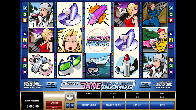 онлайн аппарат Agent Jane Blonde 1