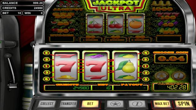 онлайн аппарат Jackpot Ultra 2