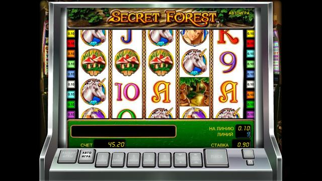 онлайн аппарат Secret Forest 10