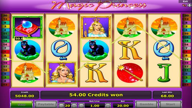 игровой автомат Magic Princess 8