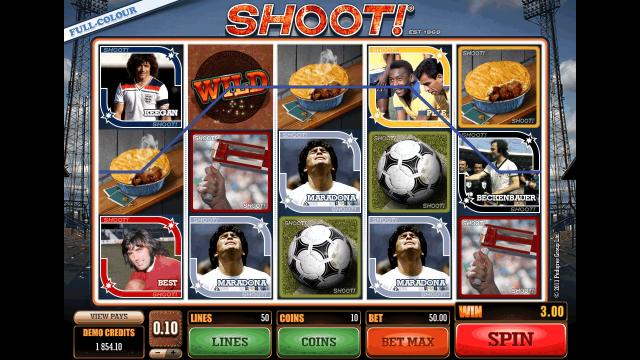 игровой автомат Shoot! 8
