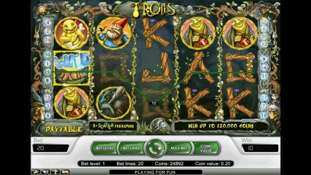 игровой автомат Trolls 3
