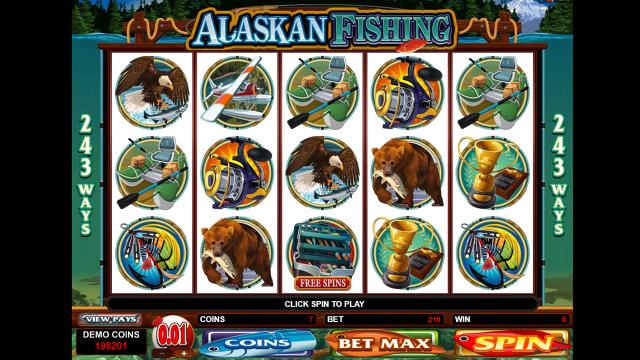 популярный слот Alaskan Fishing 3