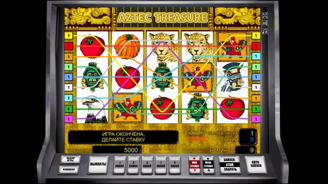 онлайн аппарат Aztec Treasure 1