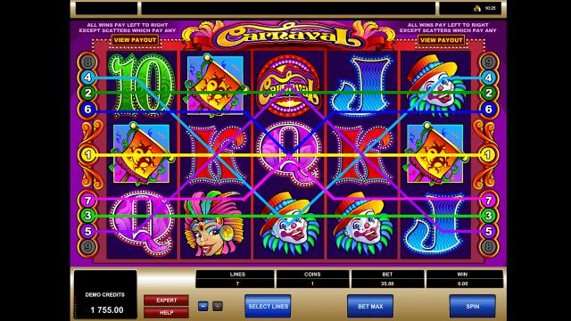 популярный слот Carnaval 7