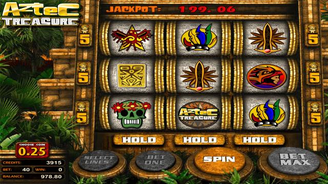 популярный слот Aztec Treasure 2D 4